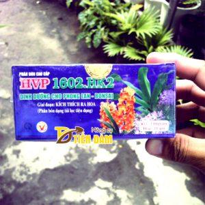 Phân bón dinh dưỡng kích hoa cho lan thời kì ra hoa HVP 1602.HK2 - T09