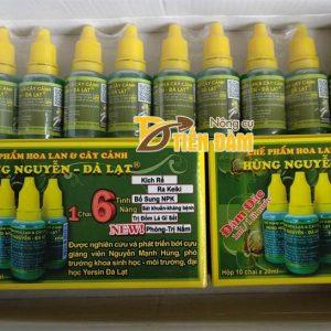 Chế phẩm chuyên phòng và điều trị nấm cho lan Hùng Nguyễn – T21