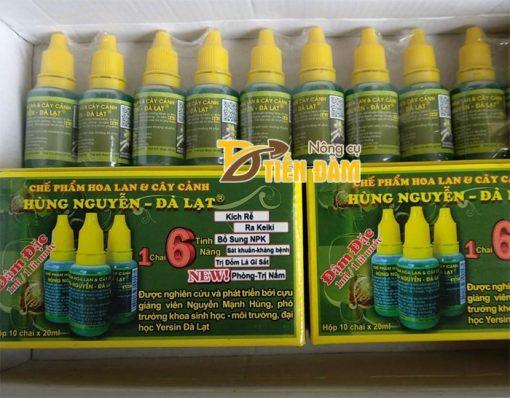 Chế phẩm chuyên phòng và điều trị nấm cho lan Hùng Nguyễn - T21