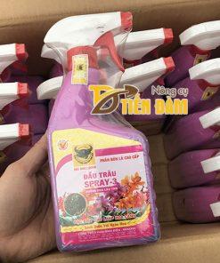 Phân bón dưỡng hoa nở to lâu tàn đầu trâu Spray – 3 – T15