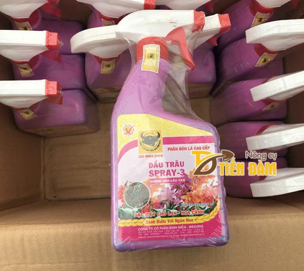 Phân bón dưỡng hoa nở to lâu tàn đầu trâu Spray - 3 - T15