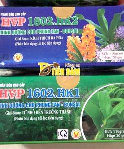 Phân bón dinh dưỡng kích hoa cho lan thời kì ra hoa HVP 1602.HK2 – T09
