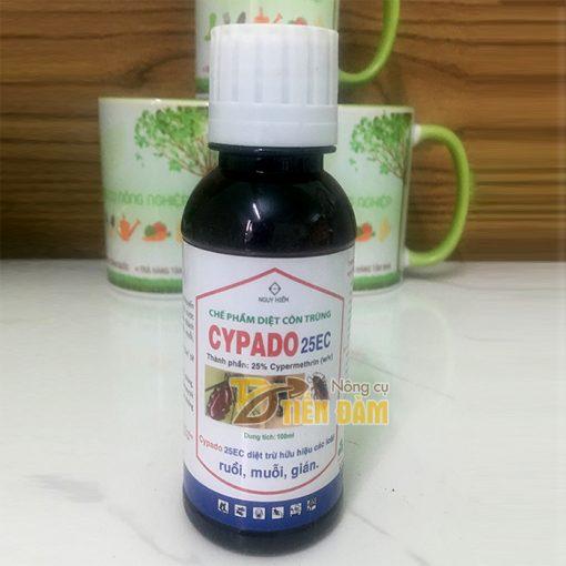 Thuốc diệt côn trùng gây hại muỗi, kiến, gián CYPADO - T78