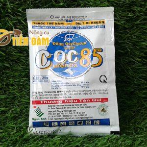 Thuốc phòng trừ nấm bệnh, vi khuẩn COC 85 – T24