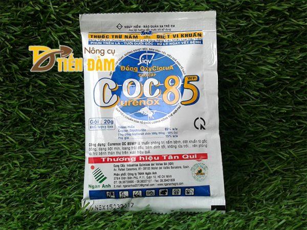 Thuốc phòng trừ nấm bệnh, vi khuẩn COC 85 - T24