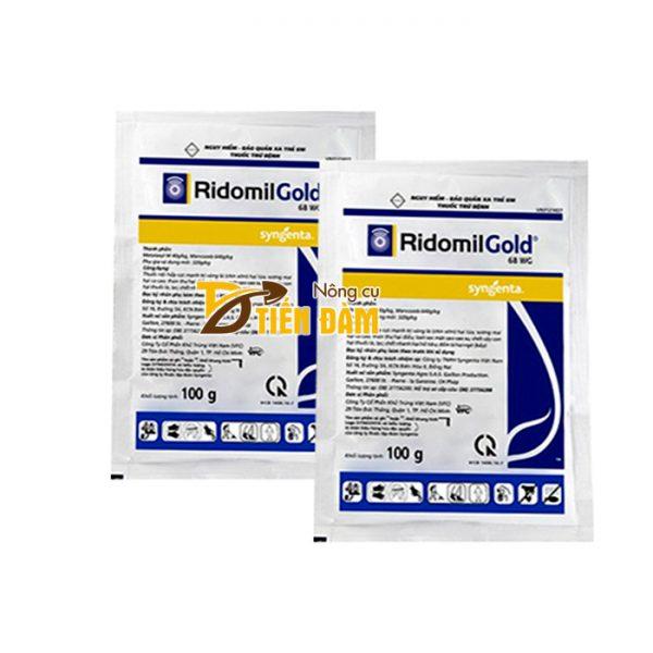 Thuốc trị bệnh thán thư , sương mai Ridomil Gold 68WG - T29