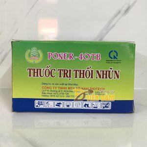 Thuốc trừ bệnh thối nhũn Poner – 40TB dạng viên sủi – T102