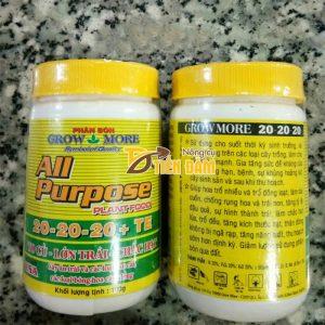 Phân bón dinh dưỡng toàn diện All Purpose 20-20-20 – T17