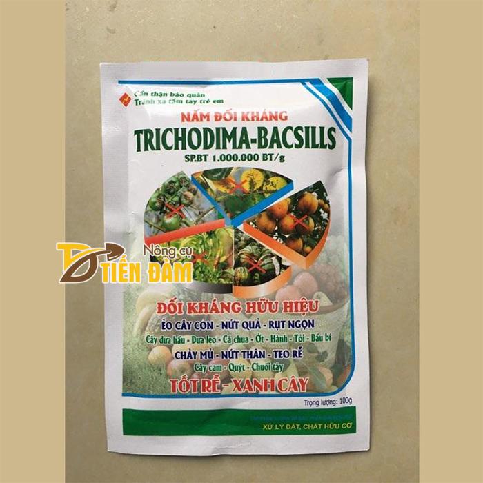 Nấm đối kháng tốt rễ xanh cây cho cây trồng Trichodima - T33