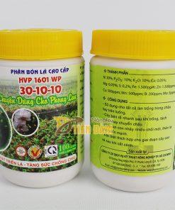 Phân bón dinh dưỡng bật chồi cho phong lan HVP 1601 WP 30-10-10 – T82