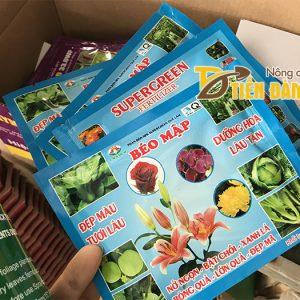 Phân bón giúp hoa tươi lâu, quả lớn NPK Béo Mập  – T47