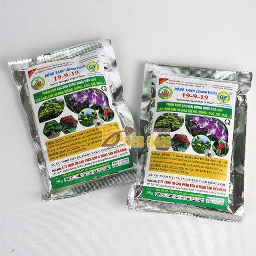 Phân bón dưỡng hoa lâu tàn Đồng Xanh (Green Field) 19-9-19 - T85