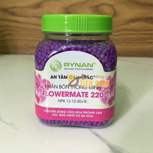 Phân bón dinh dưỡng tan chậm cho lan Ryman Flower 220  - T91