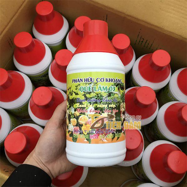 Phân bón dinh dưỡng đồng bộ Quế Lâm 03 loại 1 lít - T66