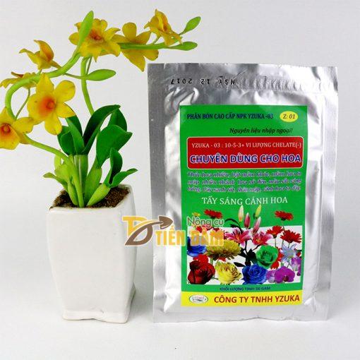 Phân bón dinh dưỡng bật chồi cho hoa Yzuka - T53