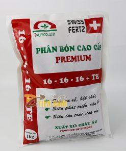 Phân bón gốc kích rễ, bật chồi mạnh Premium 16-16-16 TE – T77