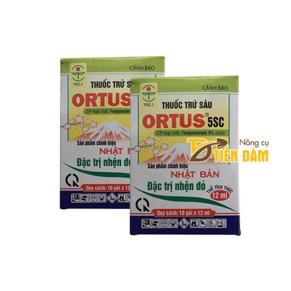 Thuốc đặc trị nhện đỏ Ortus - gói 12ml - T37