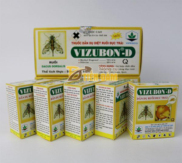 Thuốc dẫn dụ diệt ruồi vàng VIZUBON-D - T58