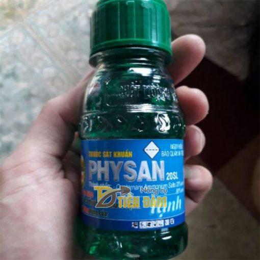 Thuốc sát khuẩn trị vàng rụng lá, thối nhũn cho lan Physan 20SL - T103