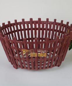 Chậu nhựa trồng lan kèm lan phụ phi 30cm – CN8
