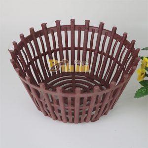 Chậu nhựa trồng lan kèm lan phụ phi 25cm – CN7