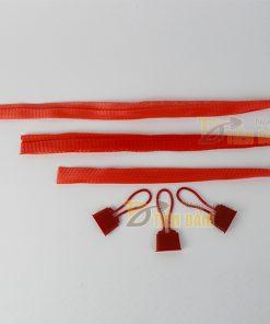 1kg Túi lưới nhựa đỏ dài 40cm kèm khóa