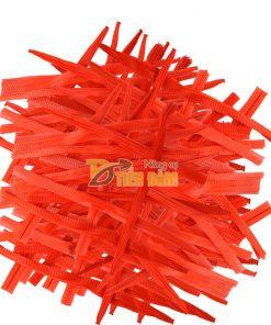 1kg Túi lưới nhựa đỏ dài 25cm