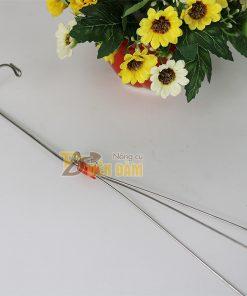 10 Móc treo giỏ lan 3 dây inox – VTK9
