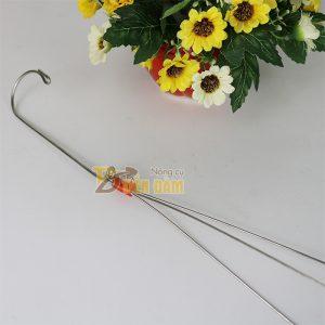 10 Móc treo giỏ lan 3 dây inox - VTK9