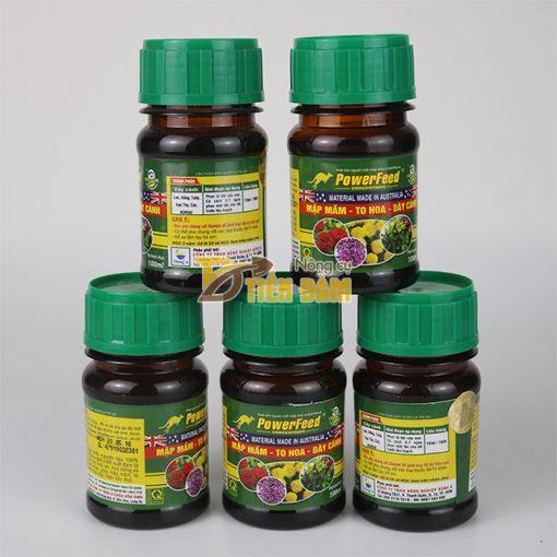 Phân bón dinh dưỡng mập mầm, hoa to, dày cánh PowerFeed - T106