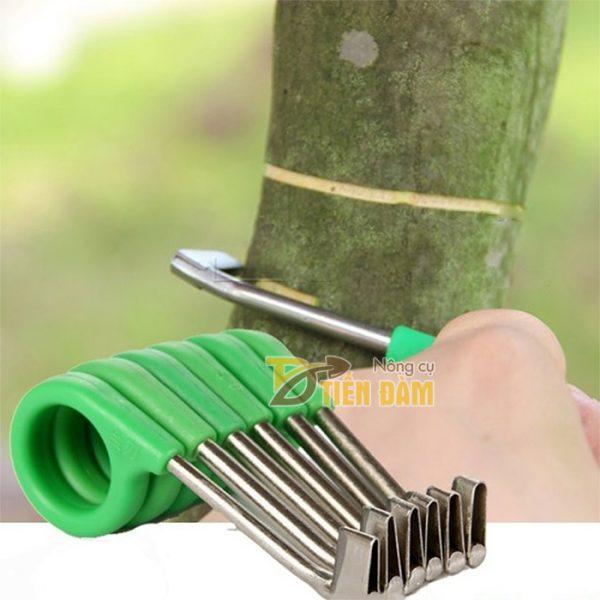 Dụng cụ khoanh tiện vỏ cây lưỡi inox - D1
