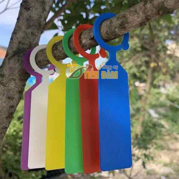 Thẻ ghi tên đánh dấu nhiều màu tự chọn - set 50 thẻ - D21-A