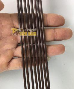 10 que cắm lan dài 80cm màu nâu – VTK8
