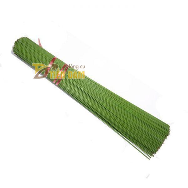 10 que cắm lan dài 80cm màu xanh - VTK5