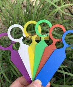Thẻ ghi tên đánh dấu nhiều màu tự chọn – set 50 thẻ – D21-A