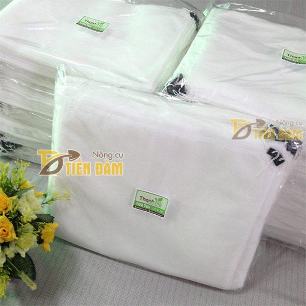 Túi vải bao bưởi kích thước 25x30cm - bịch 100 túi
