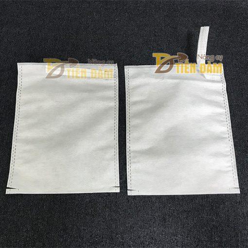 Túi vải bao trái kích thước 16x20cm - bịch 200 túi