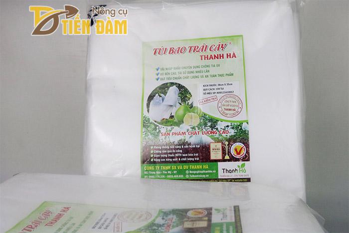 Túi vải bao bưởi được sản xuất từ vải nhập khẩu chuyên dụng chống tia UV