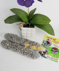 phân dê bón cho phong lan đựng sẵn trong túi lưới 20cm – GT8