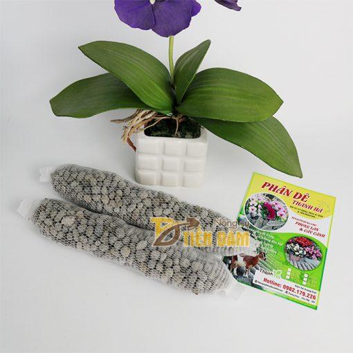phân dê bón cho phong lan đựng sẵn trong túi lưới 20cm - GT8