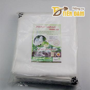 Túi vải bao bưởi kích thước 30x35cm - bịch 100 túi