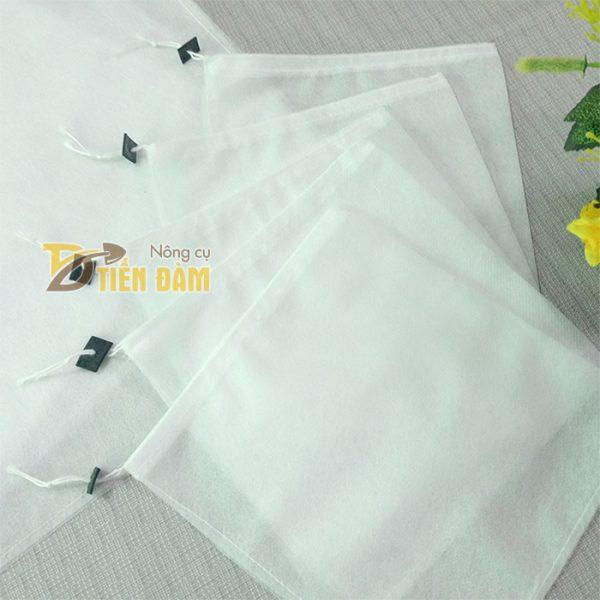 Túi vải bao xoài kích thước 20x27cm - bịch 100 túi