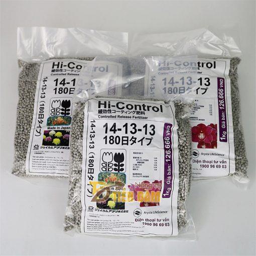 Phân chì tan chậm bón cho hoa Hi-control 1kg - T111