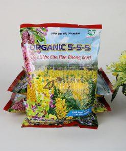 Phân bón hữu cơ tốt rễ , hoa to Organic 5-5-5 – T116