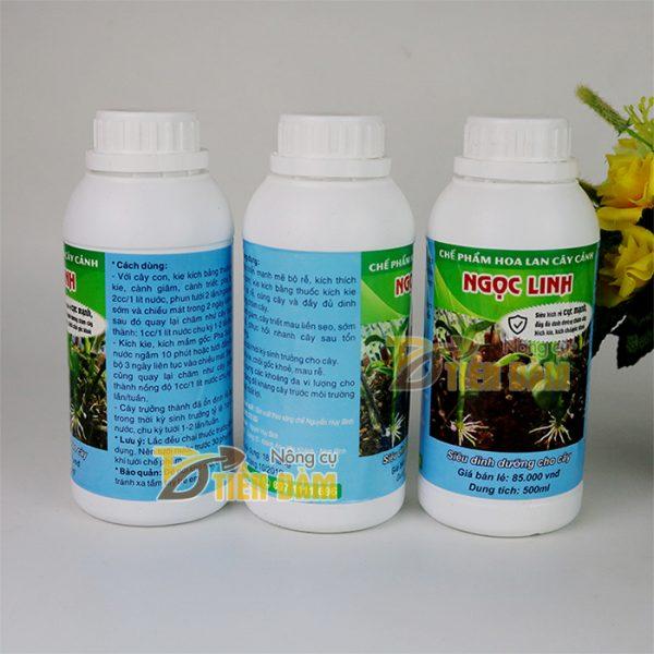 Chế phẩm Ngọc Linh kích rễ, kích kie cho lan và cây cảnh - 500ml - T115