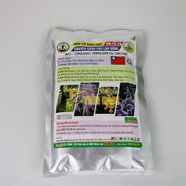Phân bón hữu cơ sinh học chuyên dụng cho lan rừng - T117
