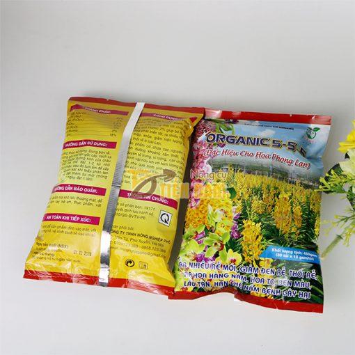 Phân bón hữu cơ tốt rễ , hoa to Organic 5-5-5 - T116
