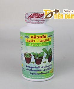 Phân bón kích mầm cho lan Alpha Omega xanh – T139
