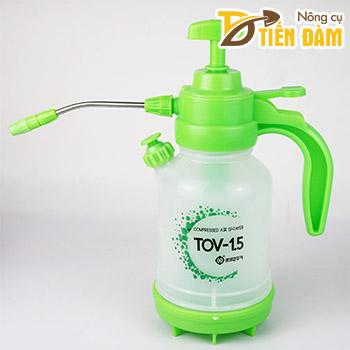 Bình tưới nước TOV xịt áp lực 1,5 lít - D75