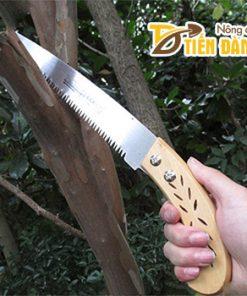 Cưa cắt cành cán gỗ sắc bén – C1